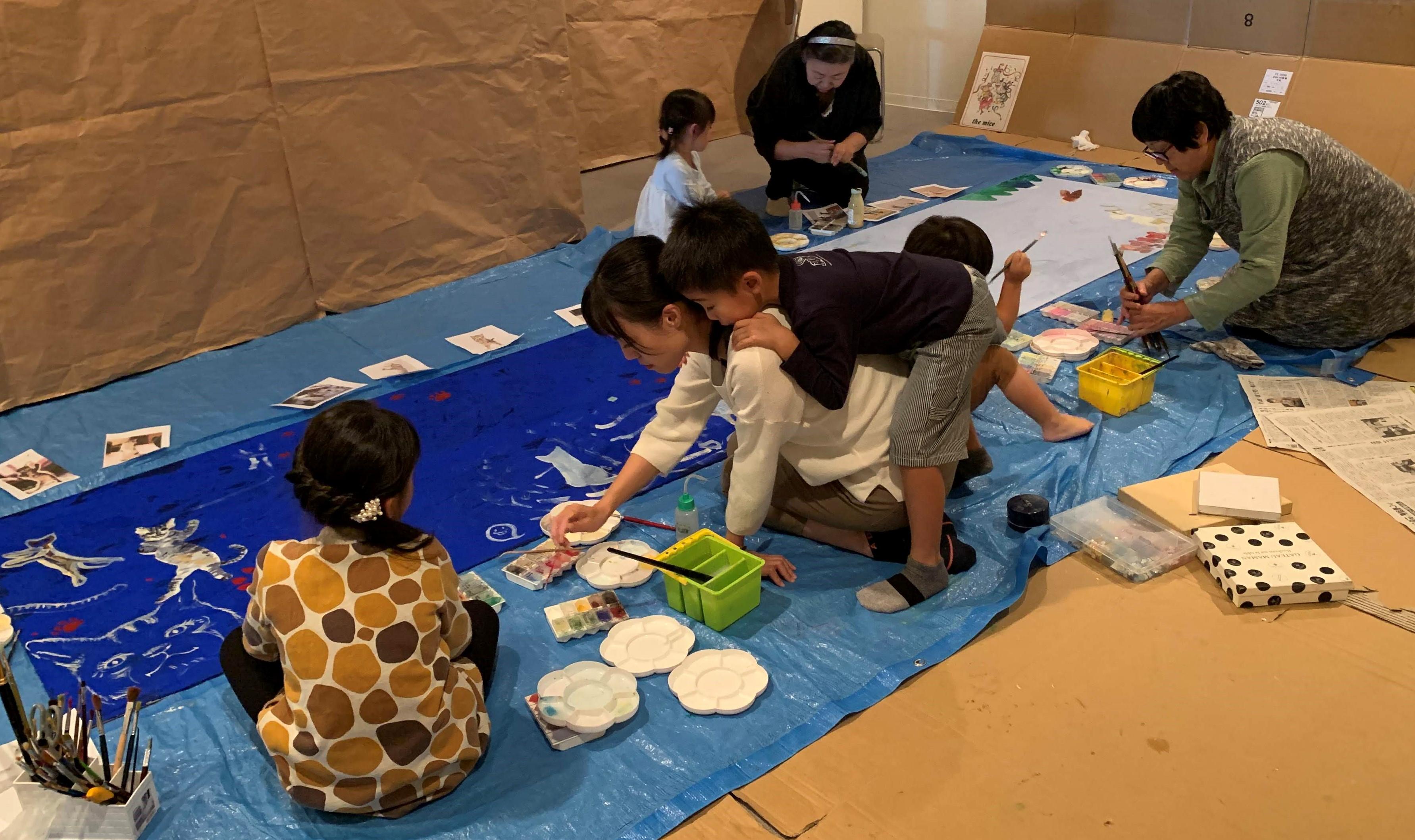 竹取物語を描いてみよう!